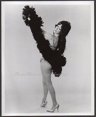 Samantha Bee Sexy Leggy Burlesque Stripper Orig Photo