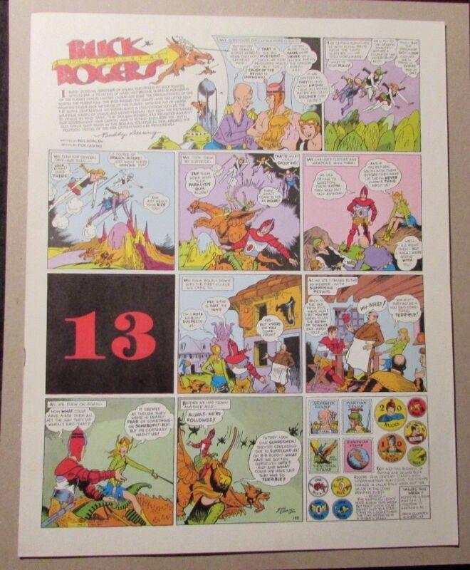 1981 BUCK ROGERS Club Anni Trenta #13 FVF Dick Calkins