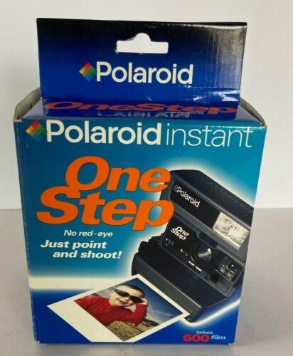 Vintage Unused POLAROID Instant One Step Camera Orig. Box 600 Film   MB16