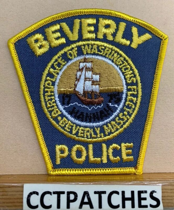 BEVERLY, MASSACHUSETTS POLICE SHOULDER PATCH MA