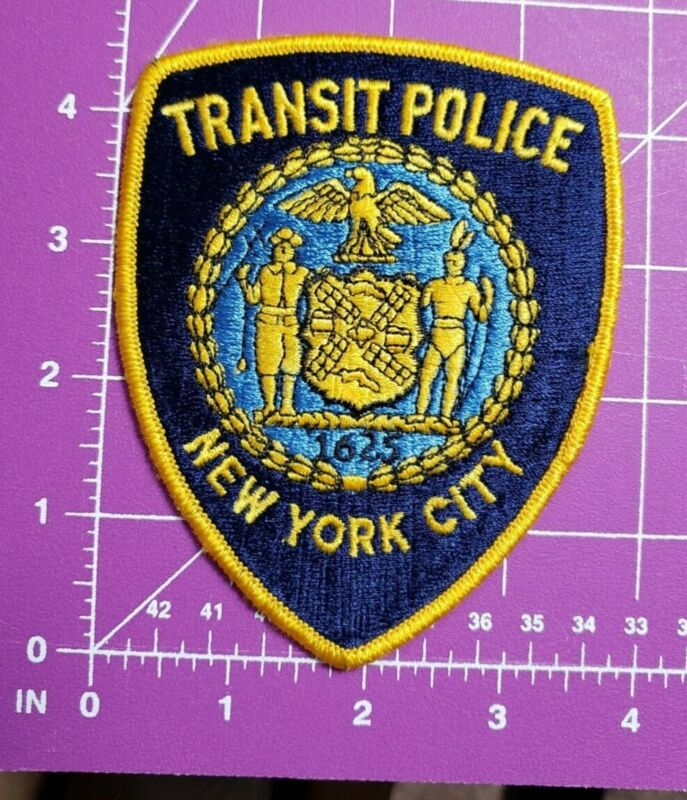 New York City Transit Police Shoulder patch vintage/new