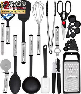 Premium Set 23 Best Kitchen Utensils Gadgets with Spatula - Best Kitchen GIFT