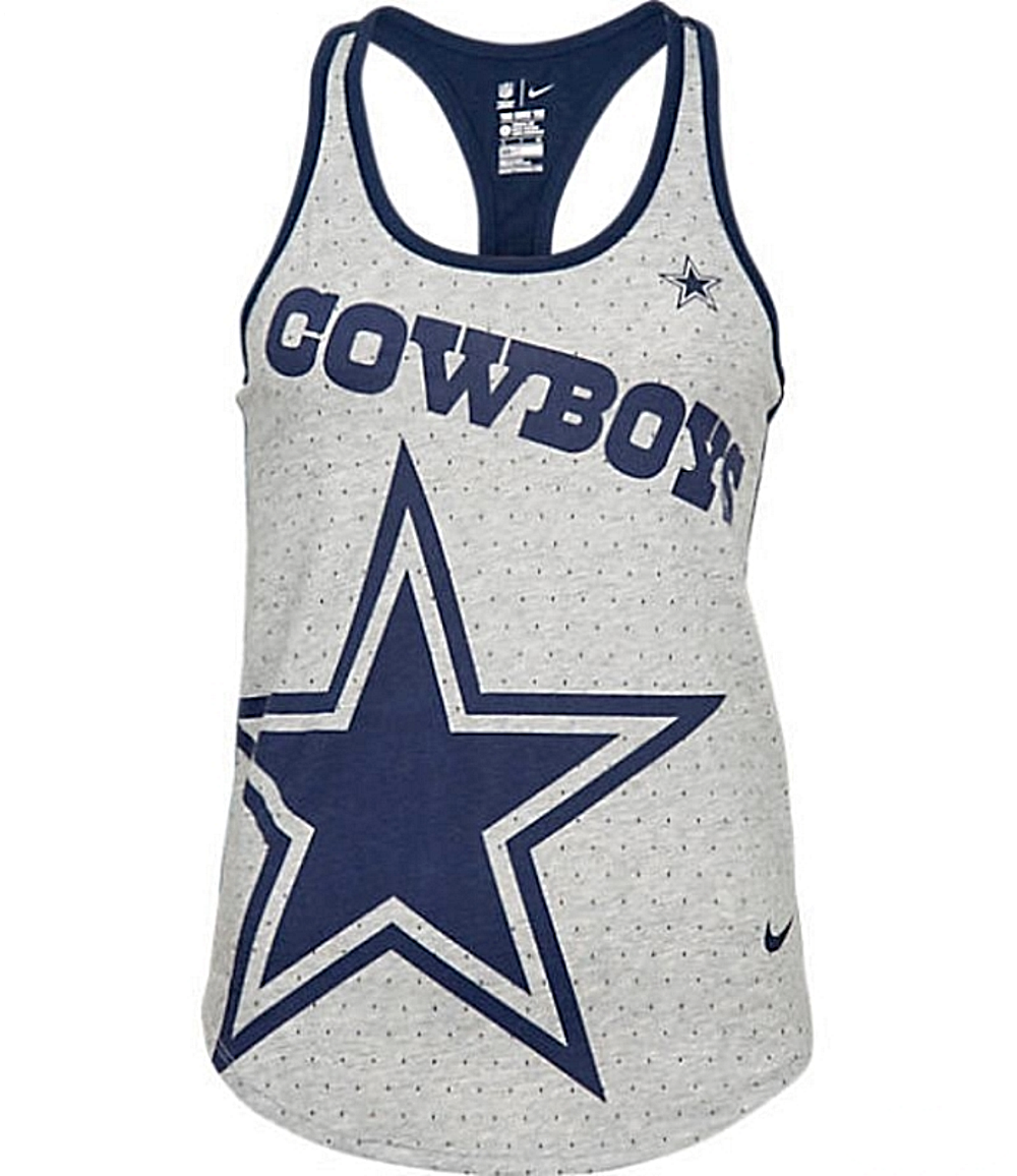 Dallas Cowboys NFL Womens Nike Breathe Tank