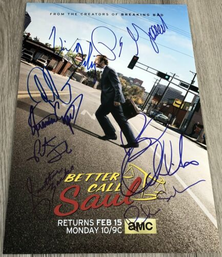 BOB ODENKIRK +7 SIGNED AUTOGRAPH BETTER CALL SAUL 12x18 PHOTO C w/EXACT PROOF