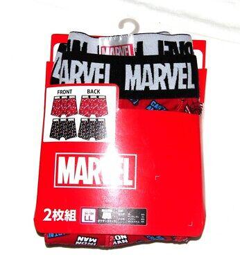 Marvel x Japan SuperHeroes Kawaii Mens Underwear boxer Shorts Size LL (94-104)