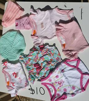 Bulk lots of tiny baby girl cloths 'prem' 00000 Tamworth 2340 Tamworth City Preview