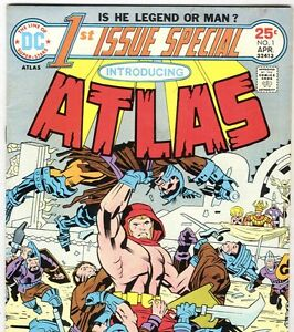 DC-Comics-1st-ISSUE-SPECIAL-1-ATLAS-by-Jack-Kirby-from-Apr-1975-in-Fine-con