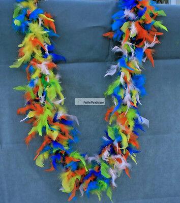 Mixed Color Chandelle Boas Fluffy Feather Boas 6 Feet 40g Wedding Party Scarf  40g Chandelle Feather Boa
