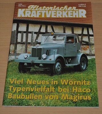 Historischer Kraftverkehr HIK 5/95 Magirus Borgward Faun Hanomag SS55 Haco Treck
