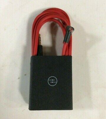 Original OEM Beats by Dr Dre 3.5mm Audio Cable/L Cord/ AUX Red Black