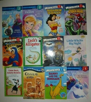 Lot of 11 Early Reader Level 1 & 2 Books ~ Step Into Reading, I Can Read Books