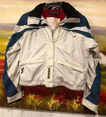 Hoodies & Sweatshirts Vtg Airwalk Sweatshirt Hoodie Zipper Medium Fleece Lined 80% Cotton 20% Poly.