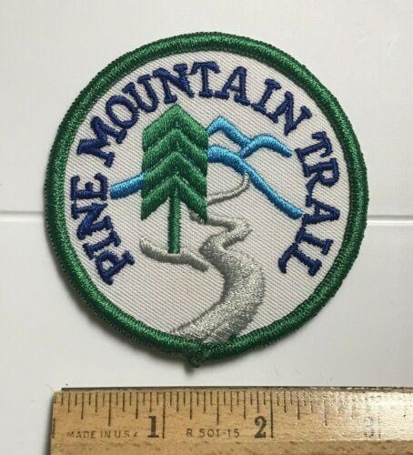 Pine Mountain Trail Georgia GA Hiking Souvenir Round Embroidered Patch Badge
