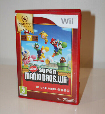 New Super Mario Bros. (Wii, 2009) PAL UK