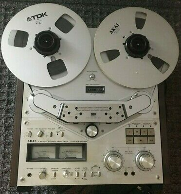 AKAI GX-635D Reet to reel with dust cover! Wotked great when put away sold as is
