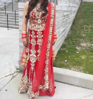Brand new Indian bridal lengha