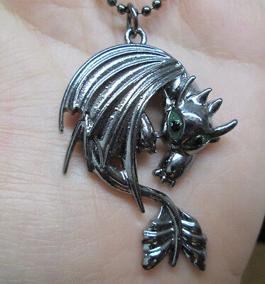 How to Train Your Dragon Inspired Toothless Necklace