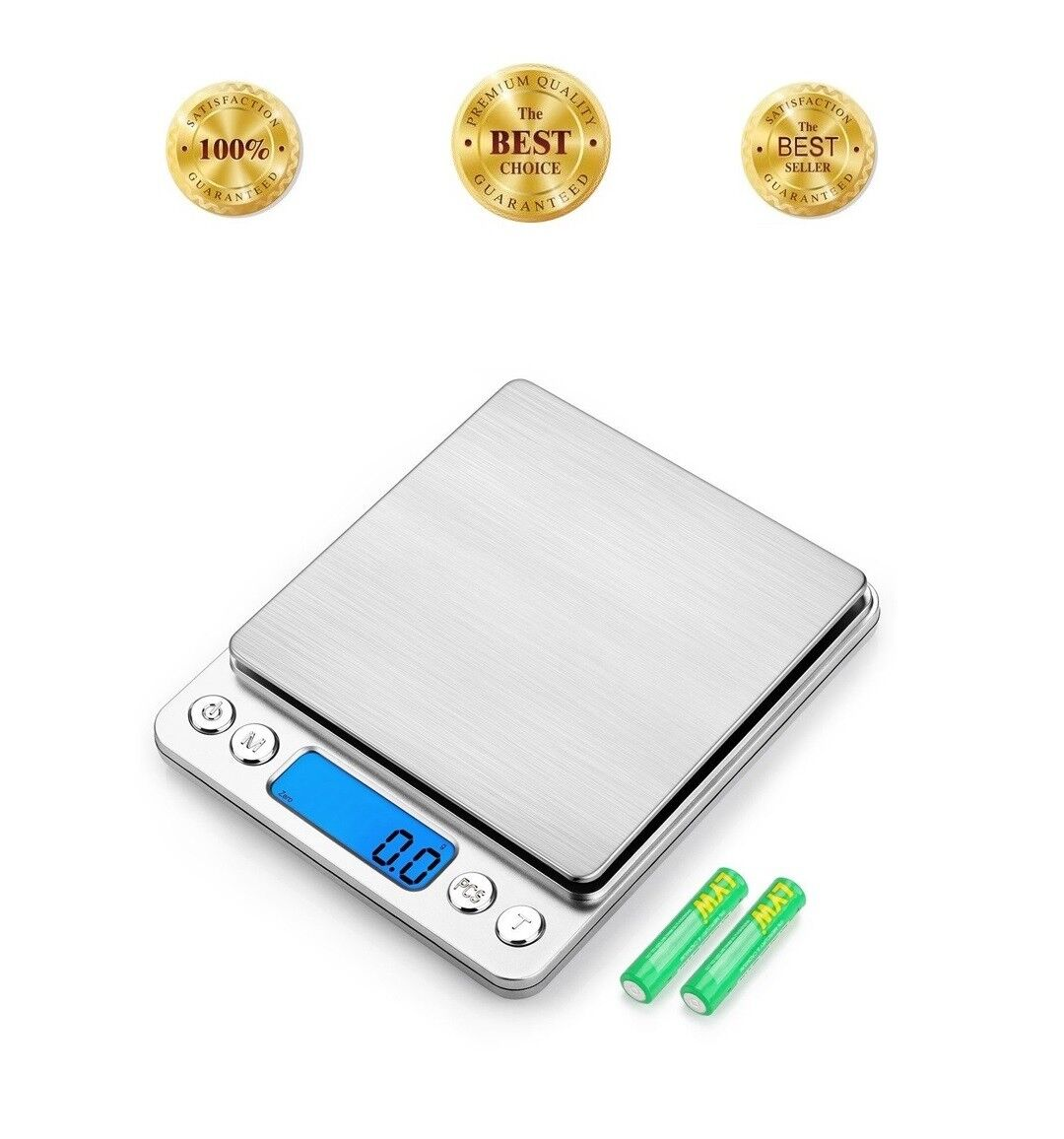 Mini Digital Pocket Scale 0.1g - 3000g Kitchen Food Gram Ounce Dwt Oz Ozt Gn Ct