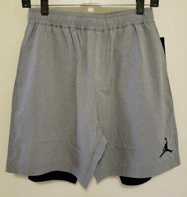 Nike Air Jordan Basketball Shorts with Inner Spandex NEW YOUTH Size 953702-042 - Jordan Spandex Shorts