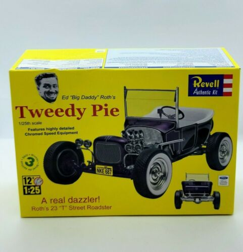 """ED """"BIG DADDY"""" ROTH REVELL 1/25 SCALE TWEEDY PIE  MODEL KIT complete unbuilt"""