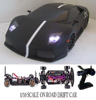 Lamborghini Gallardo Fully Custom 1/10 Scale Remote Control Onroad Drift Car