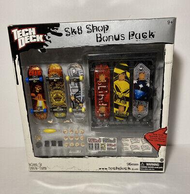 Tech Deck Flip Sk8 Skate Shop Bonus Pack Skateboard Finger Board