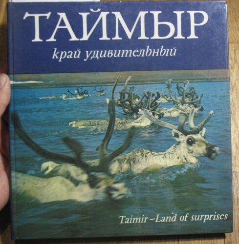 Russian Photo Album Book Ship Deer View Nganasans chum house Far North Taimyr Ol