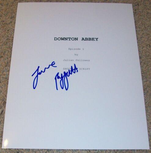 JOANNE FROGGATT SIGNED AUTOGRAPH DOWNTON ABBEY 67 PAGE PILOT SCRIPT w/PROOF