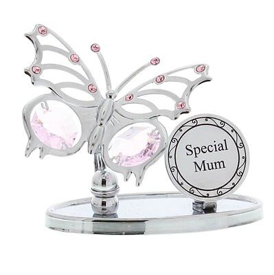 Mothers Day Gift Ideas Presents Gifts for Mum 'Special Mum' Swarovski Butterfly ()