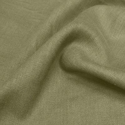 alt grau grün Kleider-Leinen Mittelalter Leinen-Stoff Meterware Tolko ()