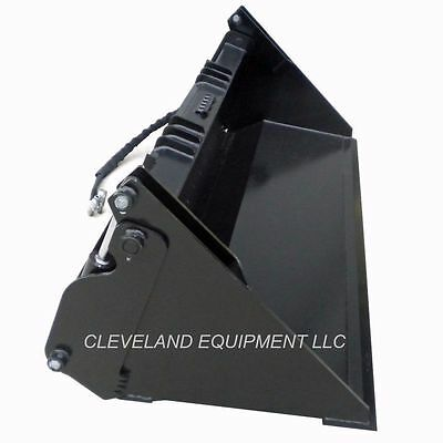60 Hd 6-in-1 Combination Bucket Skid Steer Loader Attachment Gehl Terex 4-in-1