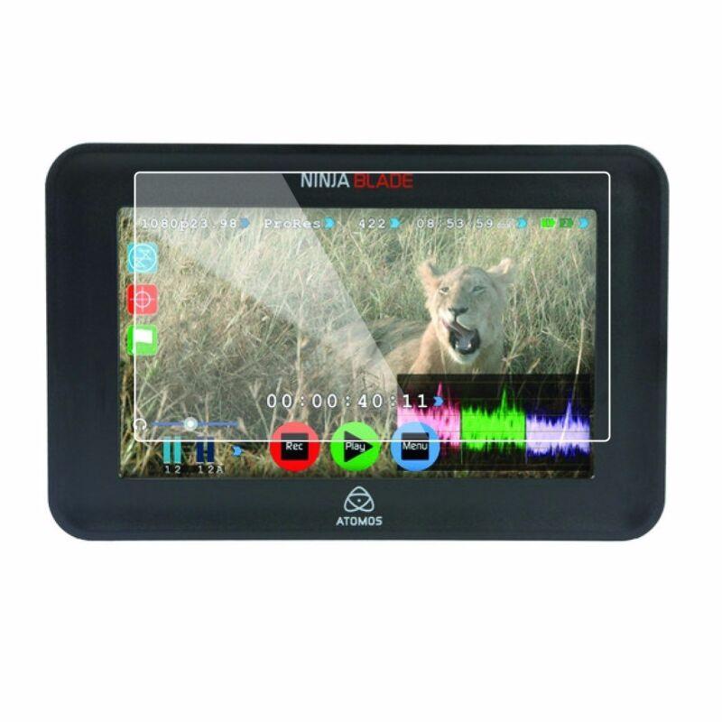 """2 pcs LCD Screen Protector-Atomos Ninja Blade 5"""" HDMI On-Camera Monitor&Recorder"""