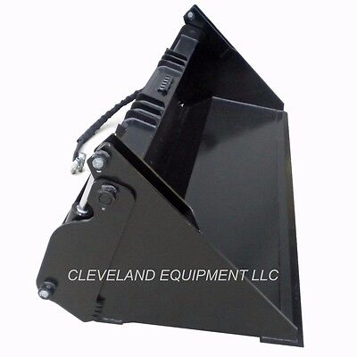 60 Hd 6-in-1 Combination Bucket Skid Steer Loader Attachment John Deere 4-in-1