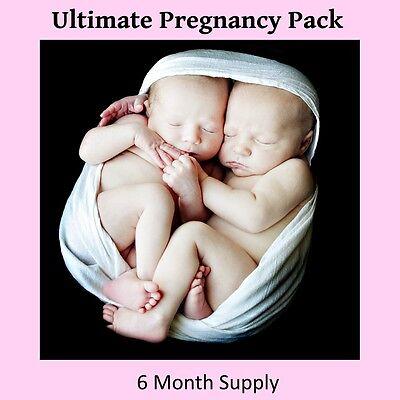 (6) Organic Cassava Root Fertility Pills - Vitamin Supplement for Twins  2