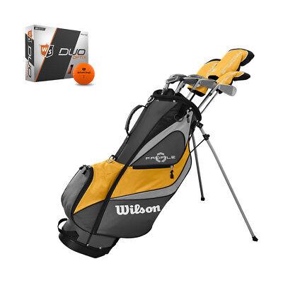 Wilson Profile XD Men's RH Golf Club Complete Set and Orange Balls