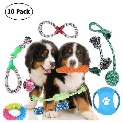 DOG ROPE TOYS GIFT SET for Puppies and Small Dogs ~ 10 Pack ~ BRAND NEW!