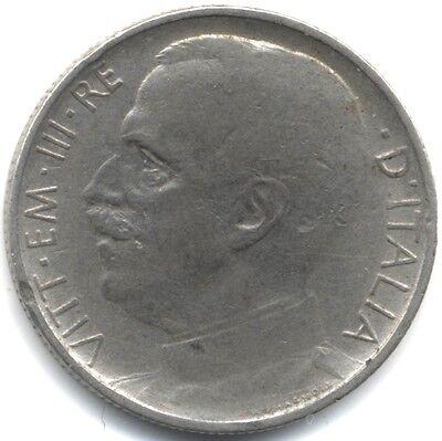 1920R Italy Emanuele III 50 Centesimi | Key Date Reeded Edge | Pennies2Pounds