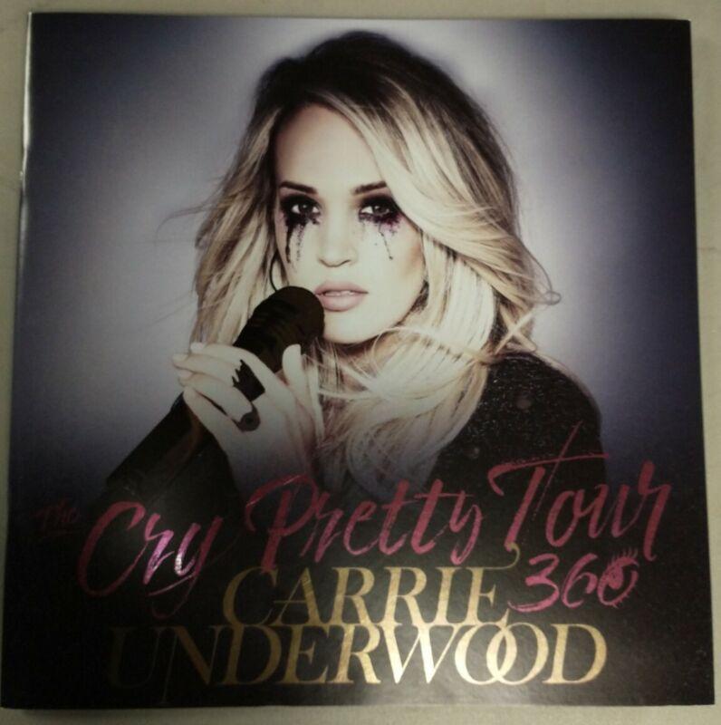 CARRIE UNDERWOOD CRY PRETTY 360 TOUR PROGRAM