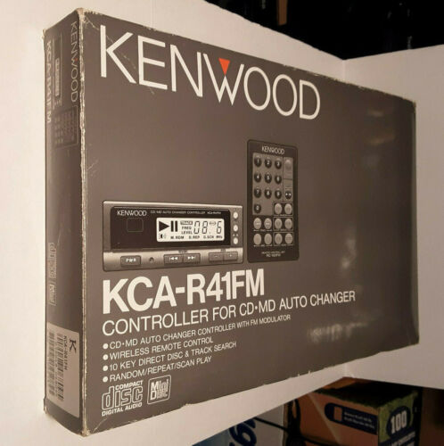 KENWOOD KCA-R41FM CONTROLLER WiRELESS REMOTE CD / MD MiNi-DiSC AUTO CHANGER NOS