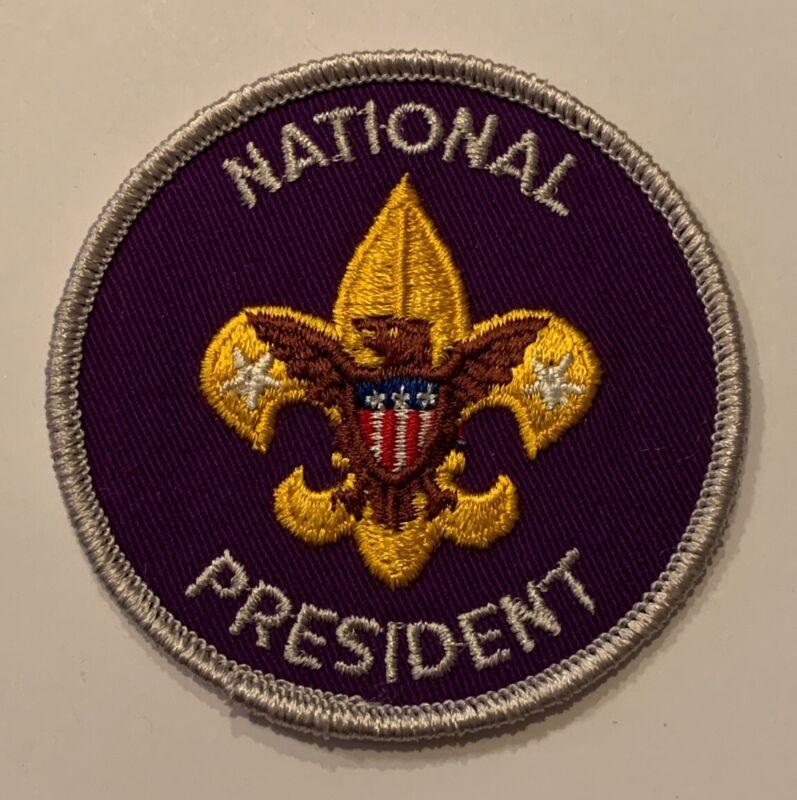 BSA National Office Patch - President