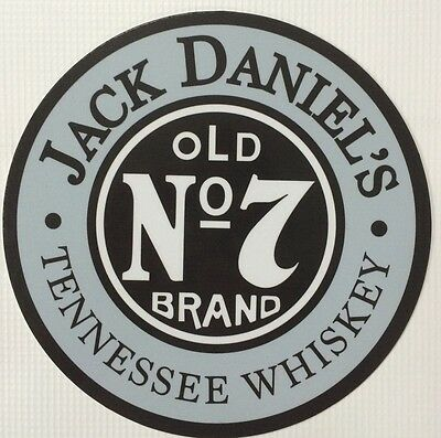 Jack daniels signebay 1 jack daniels old 7 tennessee whiskey 7 diameter metal sign voltagebd Gallery