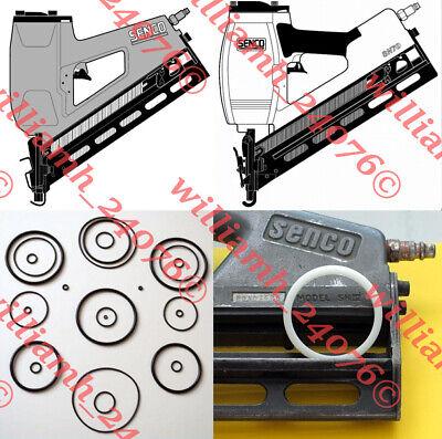 Senco Sn4 Sn70 Framing Nailer O-ring Lb3500 Firing Valve Kit