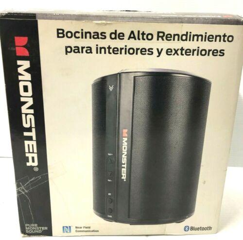 """MONSTER BTW248XBK Wireless Indoor/ Outdoor """"BLUETOOTH SPEAKER SET"""" 30 Watt"""