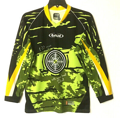 9e34d8856 Youth XL Rinat Padded Goalkeepers Soccer Shirt Jersey Hit Me With Your Best  Shot