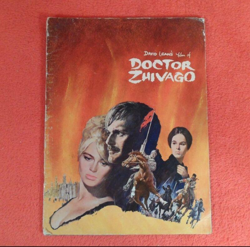 "*RARE* 1965 Movie Program/Souvenir/Book ""Doctor Zhivago"" Omar Sharif"