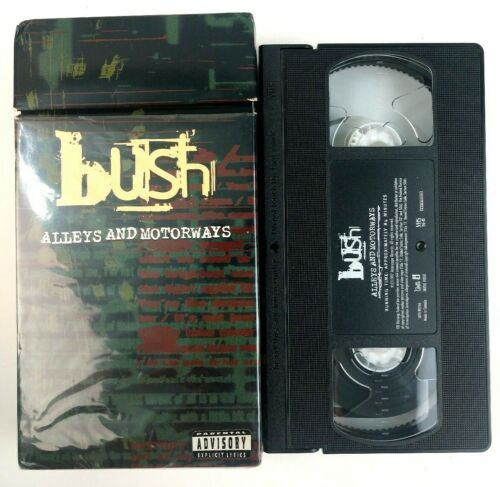 Bush Alleys And Motorways VHS