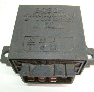 Mercedes G W461 Wolf 24V Bosch Wischintervallrelais Wiper Relay 0335320021