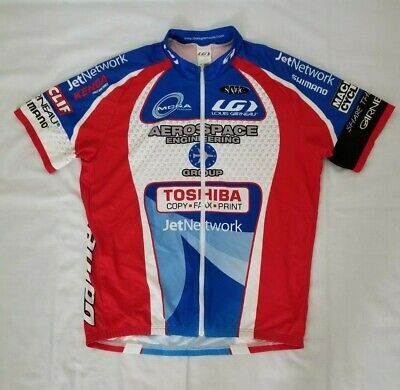 Pre-Owned Garneau SS Men/'s Cycling Jersey Cyclocross Network Racing XS or S