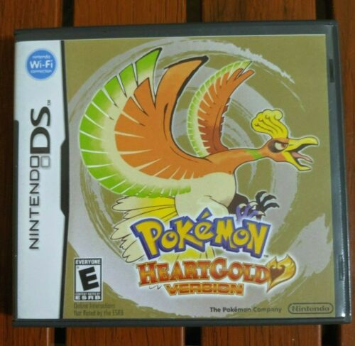 **USA SELLER** Pokemon Heart Gold Case ONLY DS 3DS *US VERSION*