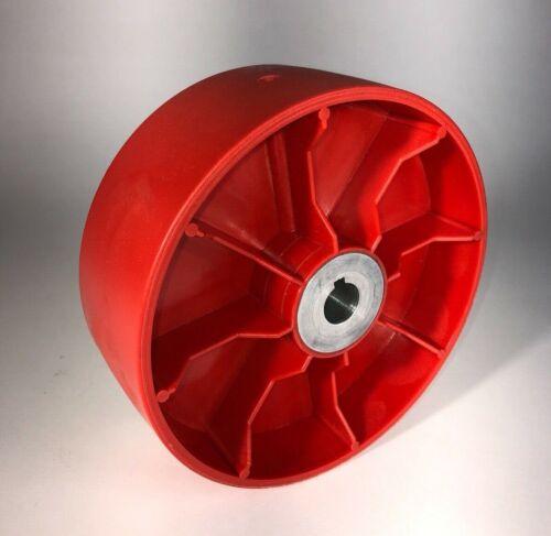 """Belt Grinder Drive Wheel for 2x72"""" knife making grinder (choose your bore size)"""